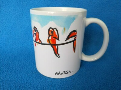 Waiting Parrots - AAaRGh Art Collectie
