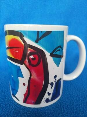 Startled flamingos - AAaRGh Art Collectie