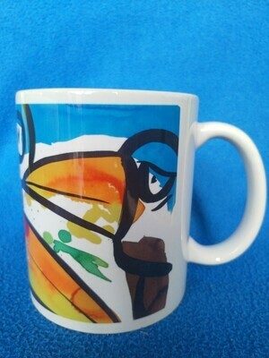 Too many toucans - AAaRGh Art Collectie