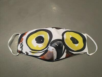 Mondmasker TIENER Owly shit (+/- 12 tot 16 jaar)