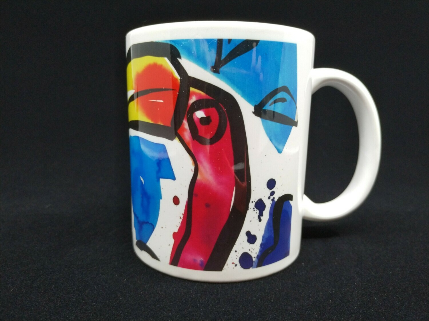 Startled flamingos - AAaRGh Art Collectie