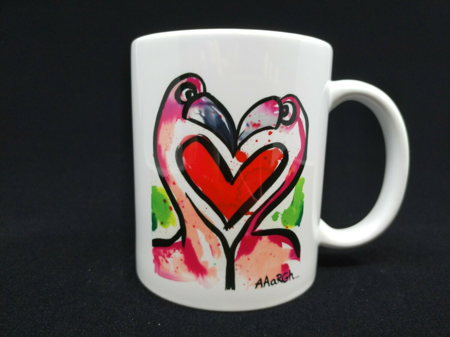 Love Flamingos - AAaRGh Art Collectie
