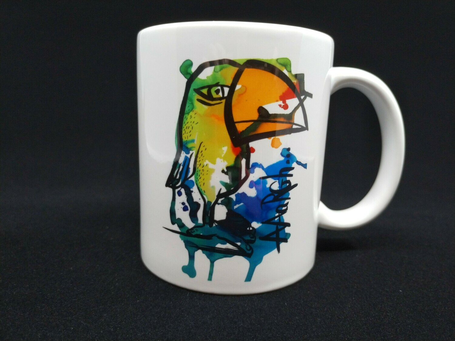 The toucan thinker - AAaRGh Art Collectie