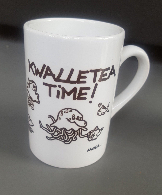 """Mok """"Kwalletea time!"""" - meerdere kwallen"""
