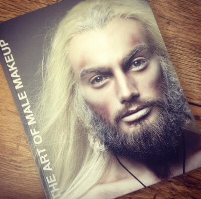 The Art of Male Makeup Inspiration Book