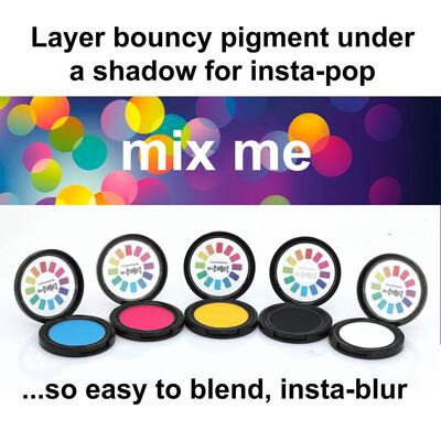 Bouncy Pigment (Light) - White shade