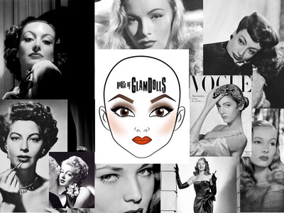 1:1 60 Minutes Bespoke Zoom Session #virtualteacher - History of GlamDolls 1940s