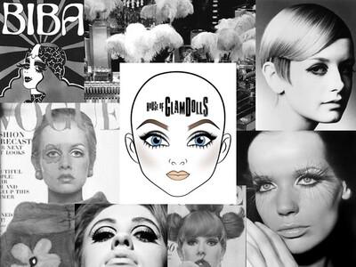 1:1 60 Minutes Bespoke Zoom Session #virtualteacher - History of GlamDolls 1960s