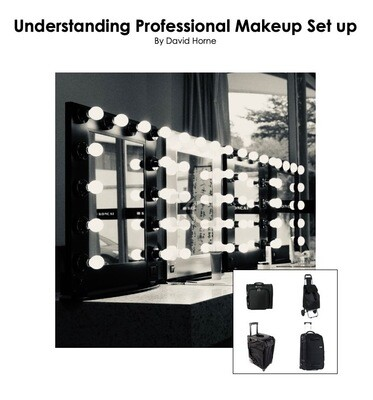 1:1 60 Minutes Bespoke Zoom Session #virtualteacher -  Understanding a Professional Makeup set up