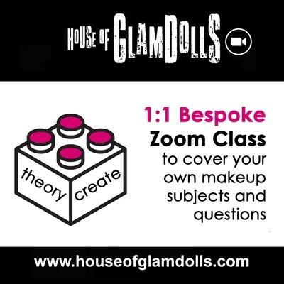 1:1 Bespoke Zoom Class