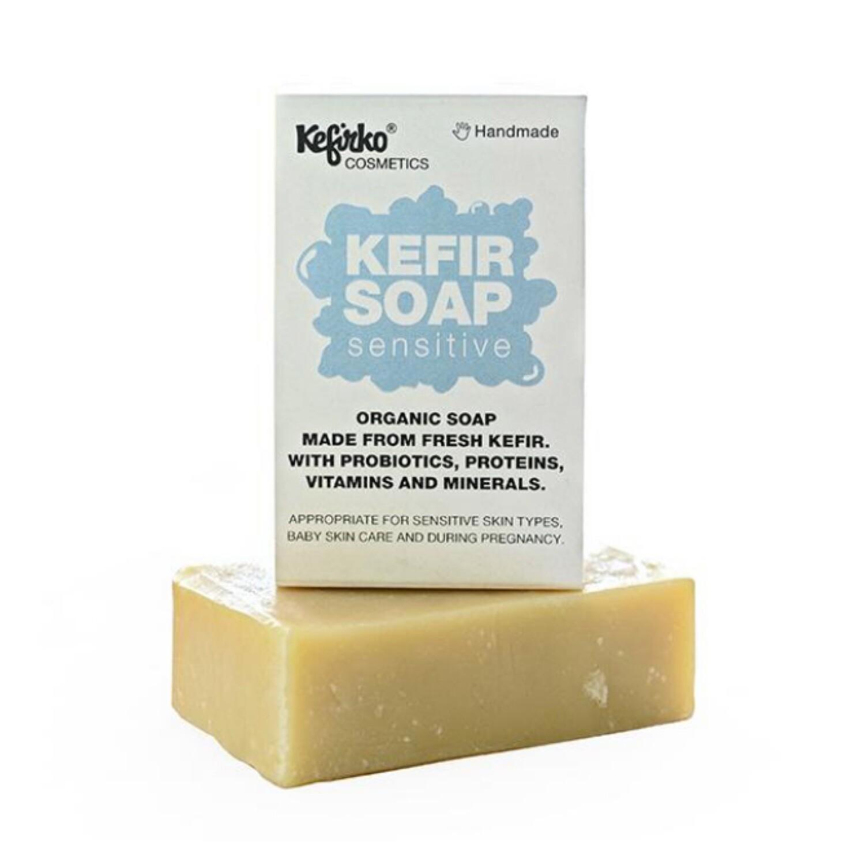 Kefirko Handmade Organic Kefir soap - Sensitive [Baby & Pregnancy suitable]