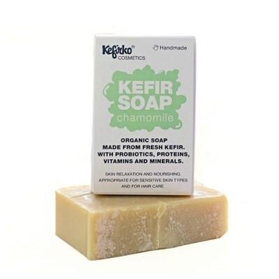 Kefirko Handmade Organic Kefir soap - Chamomile