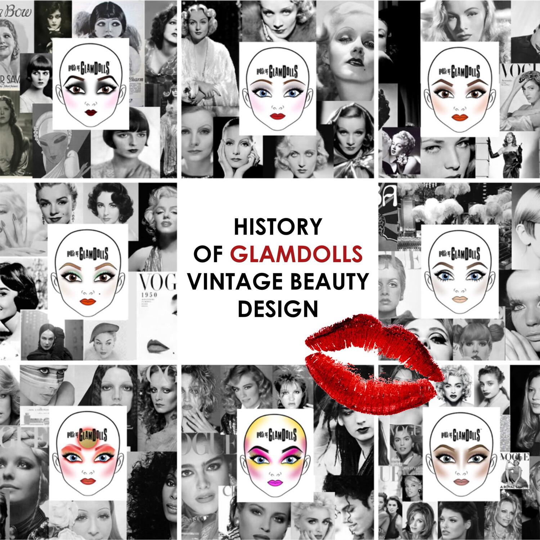 History of GlamDolls Vintage Beauty Design Course