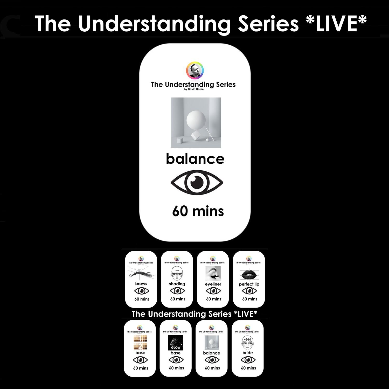 The Understanding Series LIVE: Observation session - Balance / Design