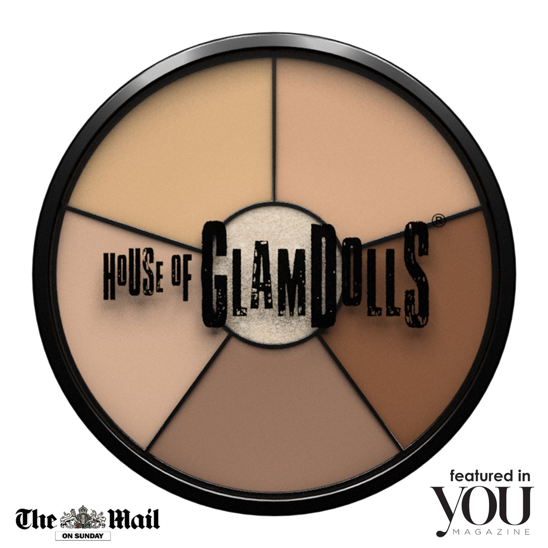 GlamBase wheel 1 - Highlight/ correct / conceal / contour/ glow