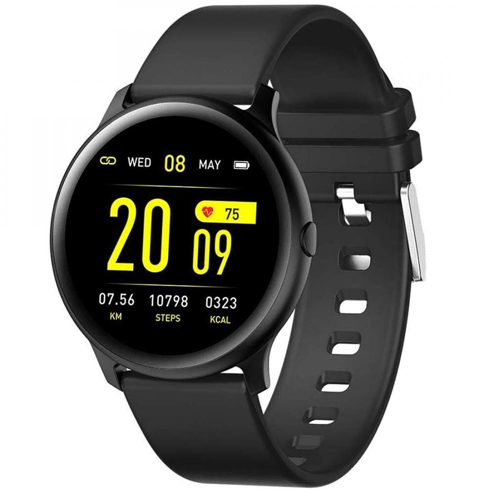 Smartwatch with Heart Rate, Blood Pressure, and Sleep Monitoring