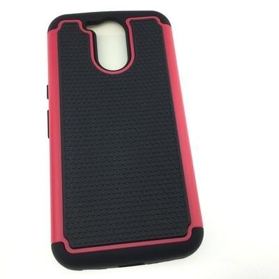 Two Piece Hybrid Case - Motorola Moto G4 Plus