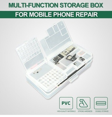 Small Cell Phone and Electric Components Storage Organizer