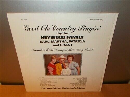 The Heywood Family ‎. Good Ole Country Singin' . Deluxe Edition