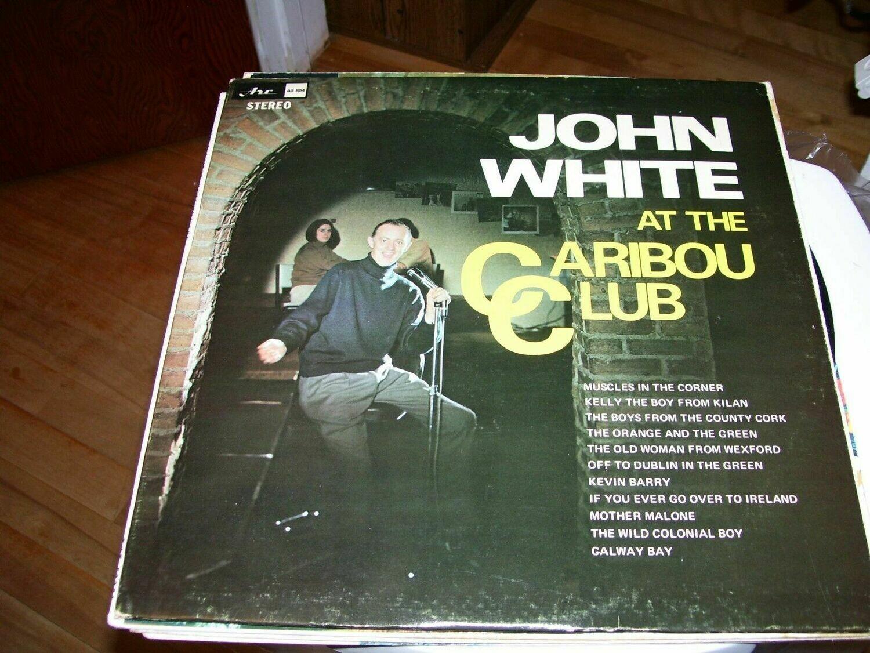 JOHN WHITE AT THE CARIBOU CLUB
