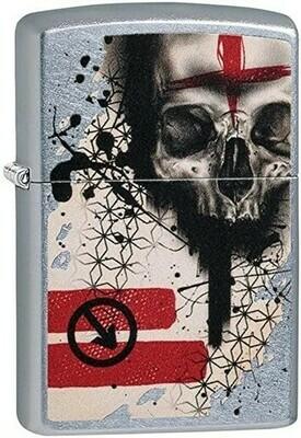 Zippo 29856 Trash Polka Tattoo Skull