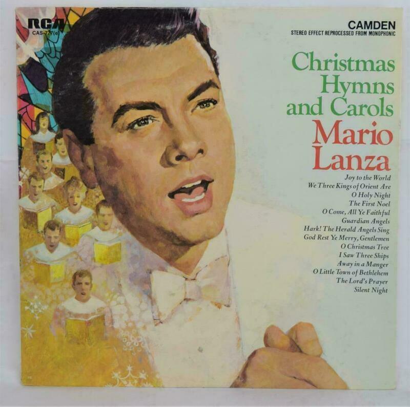 Christmas Hymns And Carols Mario Lanza LP