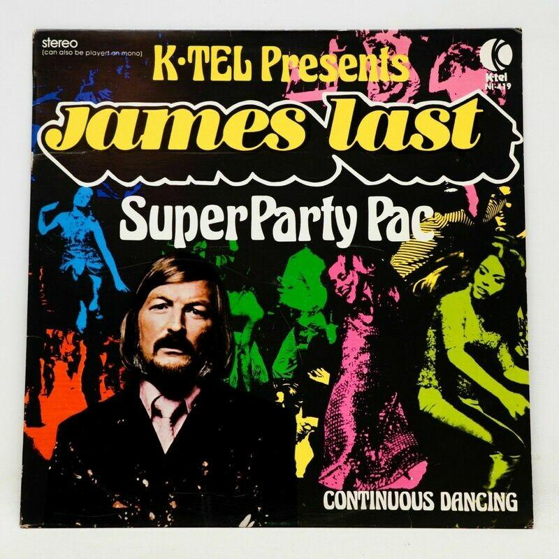 James Last Super Party Pac LP