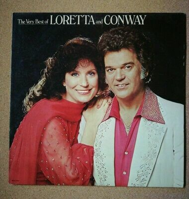 The Very Best Of Loretta and Conway LP