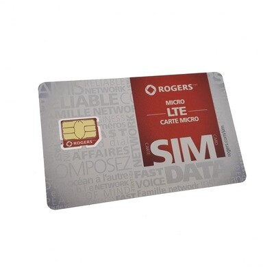 SIM Card - Rogers (Micro SIM)