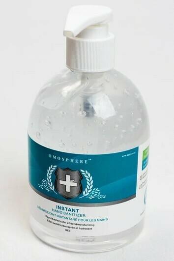 Mosphere Instant hand sanitizer gel