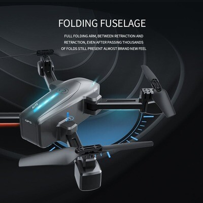 Foldable Drone - 2.4G WIFI FPV Drone with 4k Optical Flow Camera S176GPS