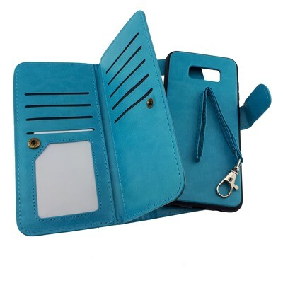 Leather Triple Wallet Case - Samsung Galaxy S8 Plus
