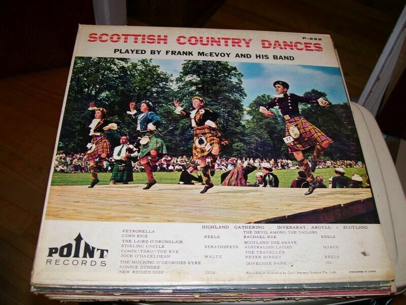 FRANK MCEVOY AND HIS BAND-SCOTTISH COUNTRY DANCES-LP