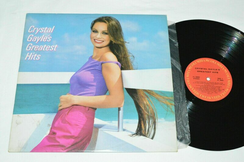 CRYSTAL GAYLE Greatest Hits LP