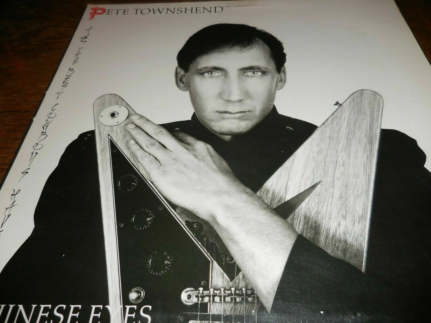 "Pete Townshend LP ""Chinese Eyes"""