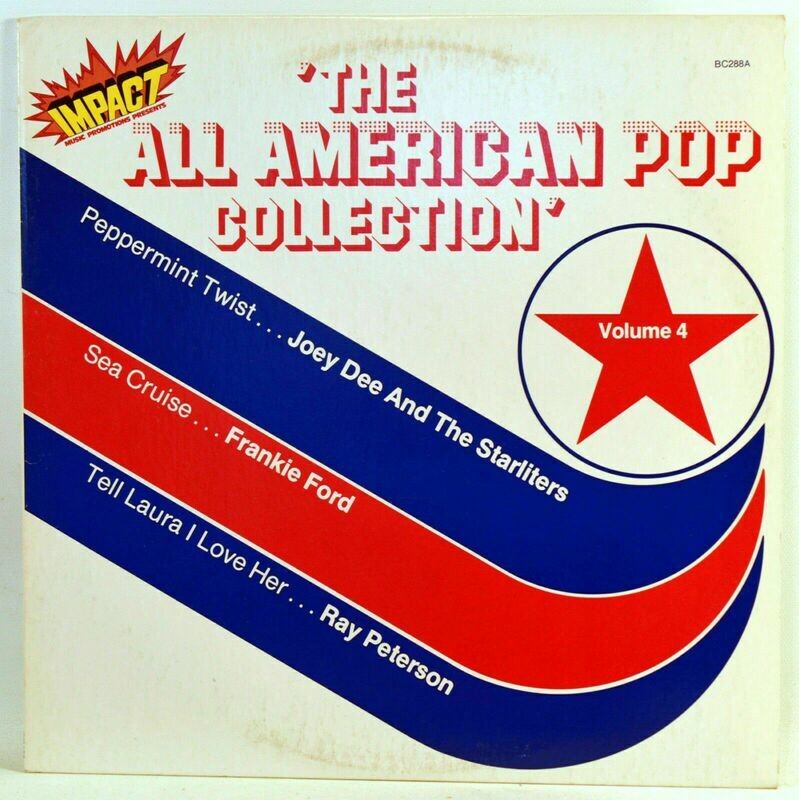 Vinyl Album The All American Pop Collection Vol 4