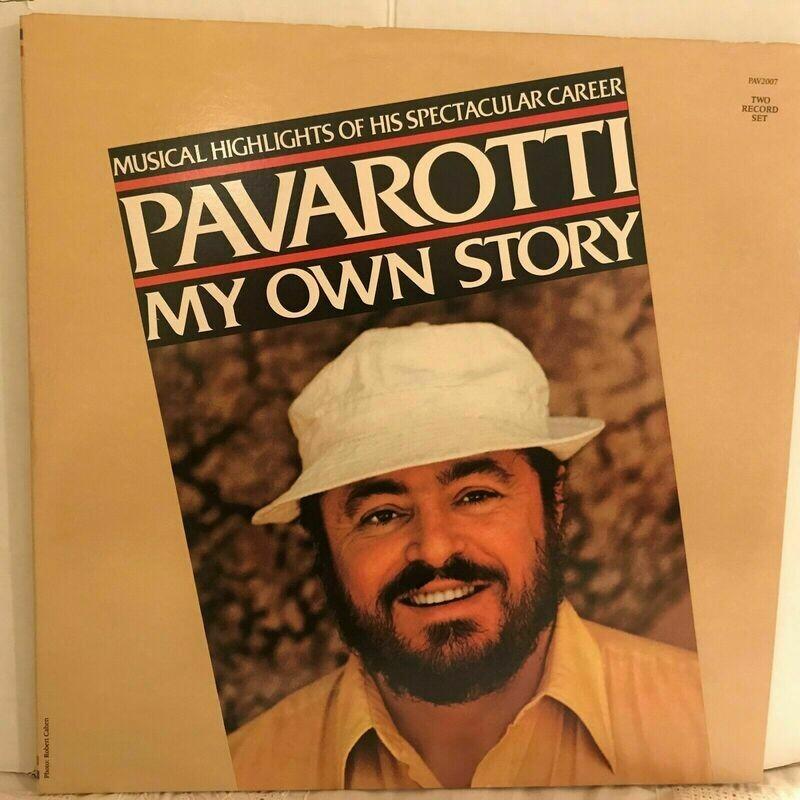 PAVAROTTI LP MY OWN STORY