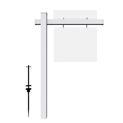 Real Estate Sign Post (STOCK)
