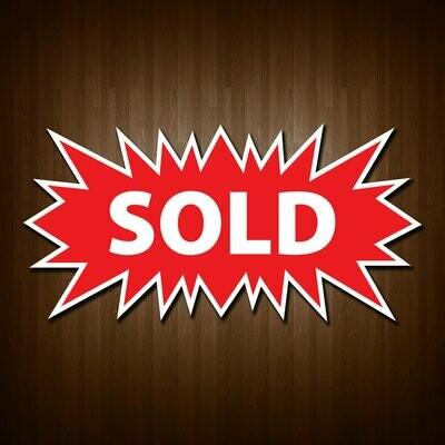 Starburst Sold Sign