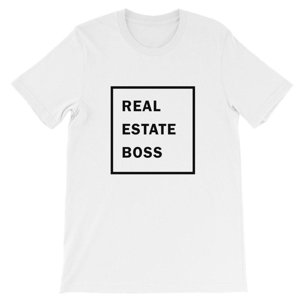 Real Estate Boss Short-Sleeve Unisex T-Shirt