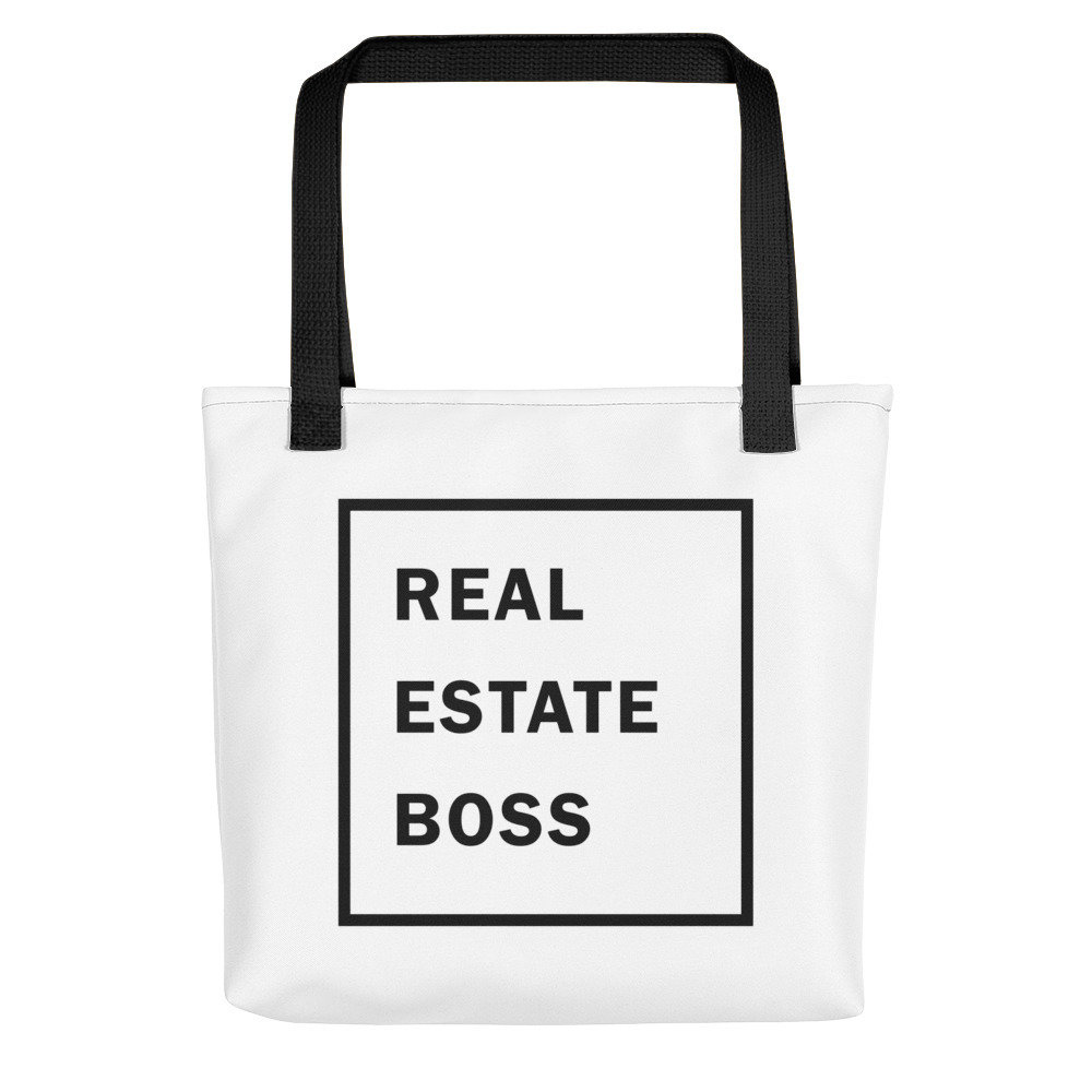 Real Estate Boss Tote bag