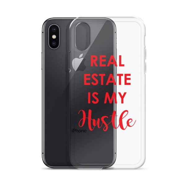 Real Estate Is My Hustle iPhone Case