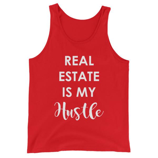 Real Estate Is My Hustle Unisex Tank Top