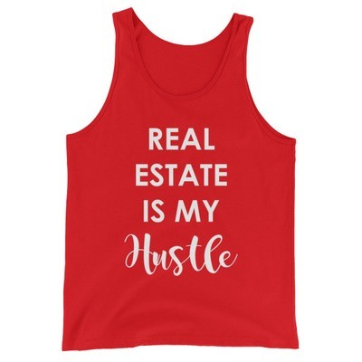 Real Estate Is My Hustle Unisex Tank Top
