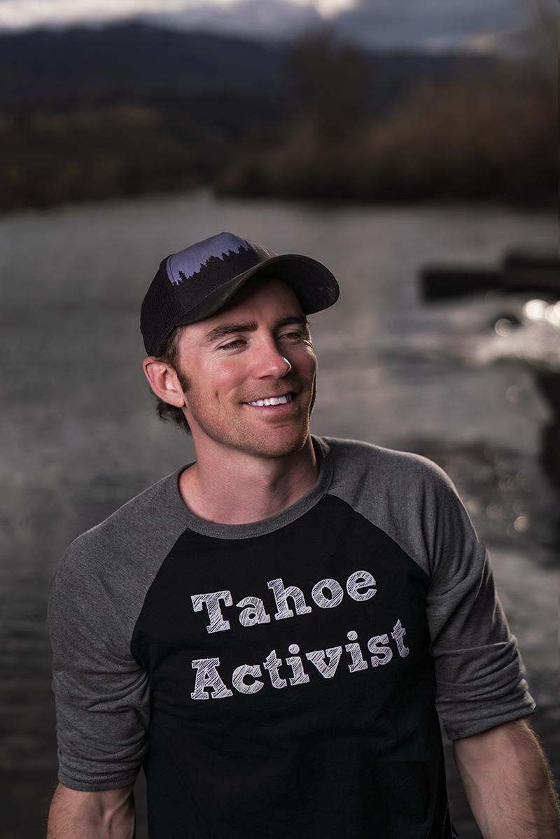 Tahoe Activist Adult Baseball Tee