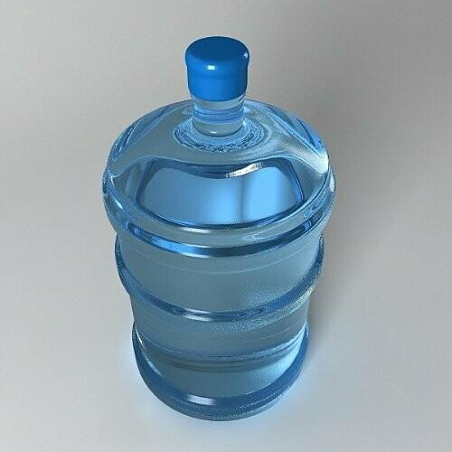 Nuevo Botellón de Cinco Galones Agua Alcalina