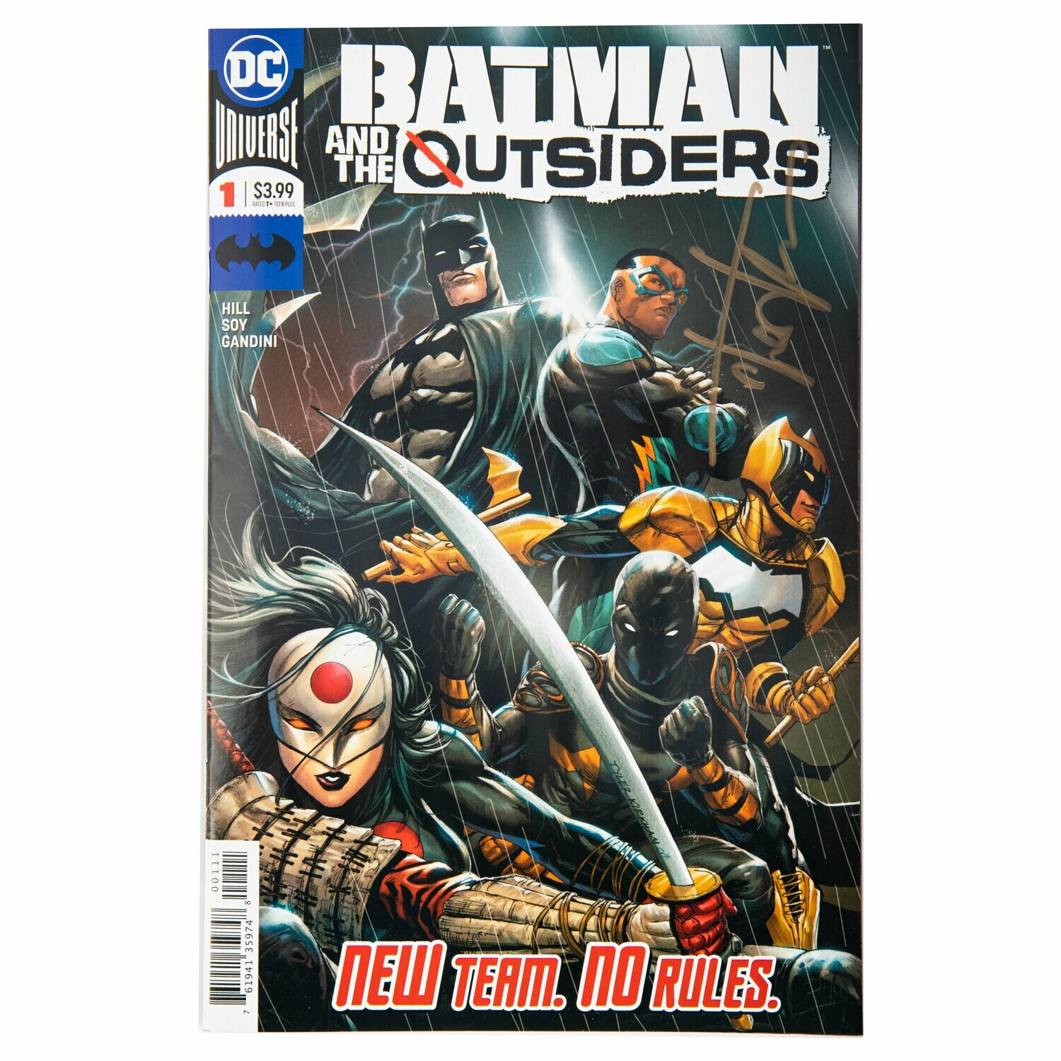 Batman And The Outsiders #1 (Signed By Tyler Kirkham)