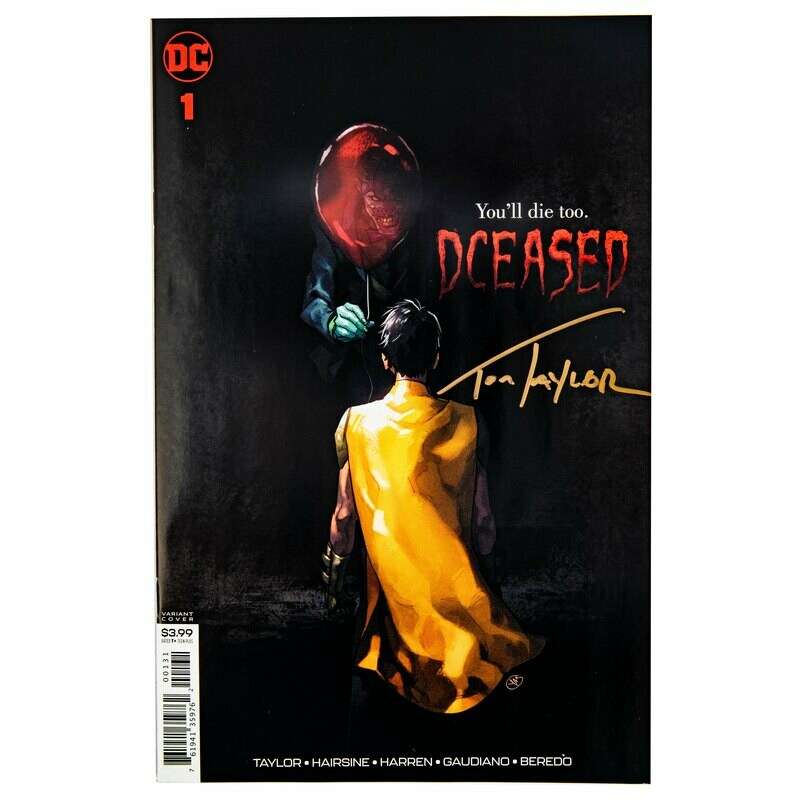 DCeased #1 IT Variant (Signed By Tom Taylor)