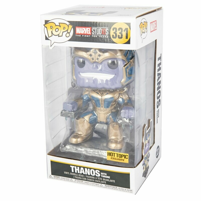 Thanos #331 (with throne) Funko Pop