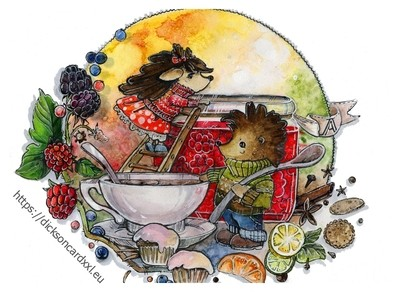 Hedgehogs - the day of cooking